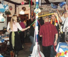 Maypole dance party